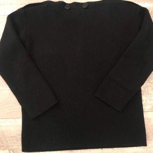 All Saints Jumper Sweater Dark Blue Size XS